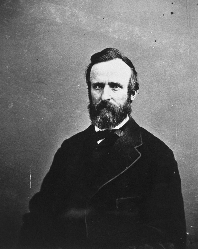 Rutherford B. Hayes (1822-93) - 19. prezydent USA