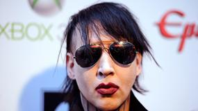Marilyn Manson przewrócił się podczas koncertu