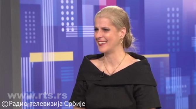 """Katarina Gojković zaplakala u """"Beogradskoj hronici"""" pričajući o ocu"""