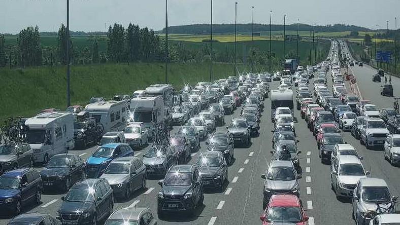 Autostrada A1 - Rusocin zjazd