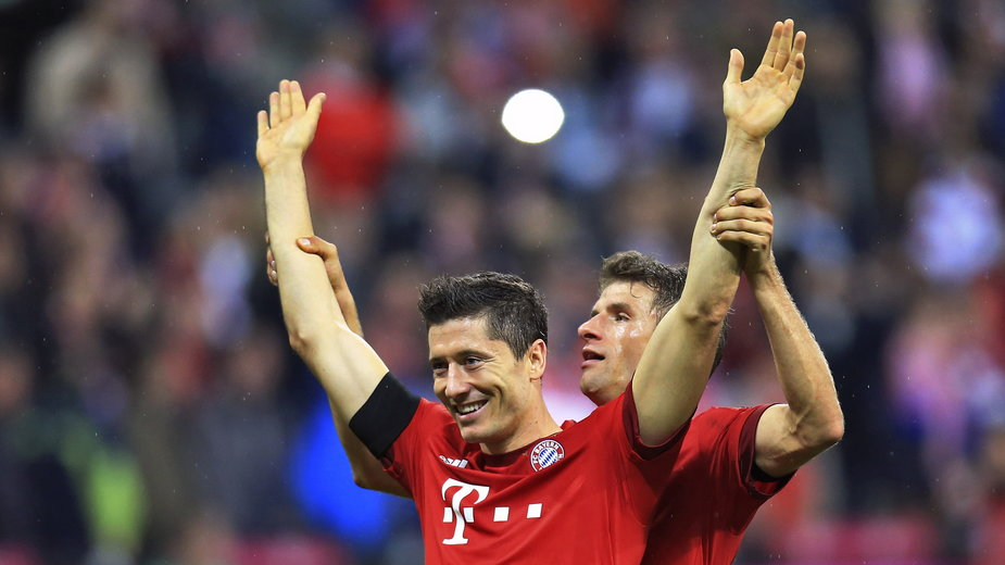 Robert Lewandowski i Thomas Mueller