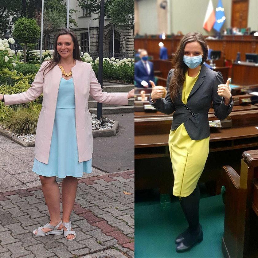 Posłanka KO Klaudia Jachira zrzuciła 10 kilogramów