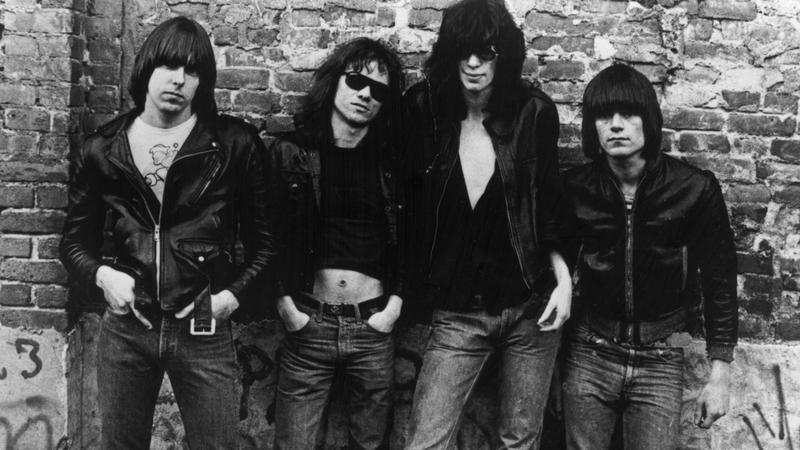 Ramones w 1976 roku