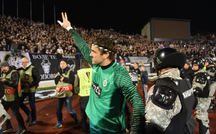 FK Partizan, FK Skenderbeg