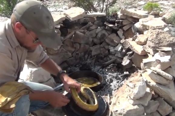 Ujela ga je zmija, a on je smislio BRUTALNU OSVETU (VIDEO)