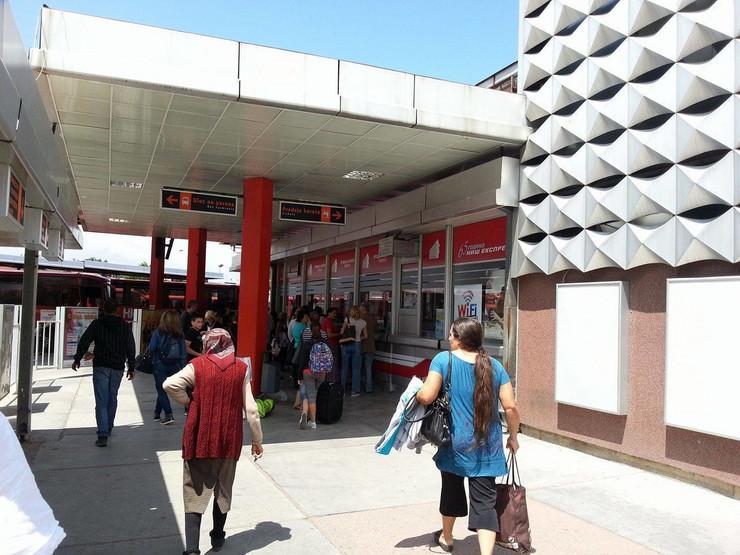 Niš Glavna autobuska stanica, foto V. Toroviå