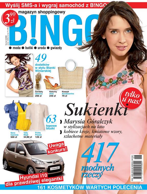 Lipcowe wydanie magazynu shoppingowego B!NGO już w kioskach.