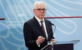 Czaputowicz: Sprzeciwiamy się powiązaniu praworządności z budżetem UE