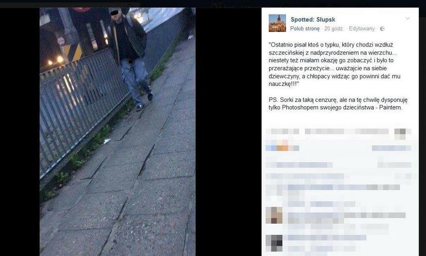 Mieszkanki Słupska ostrzegają przed ekshibicjonistą