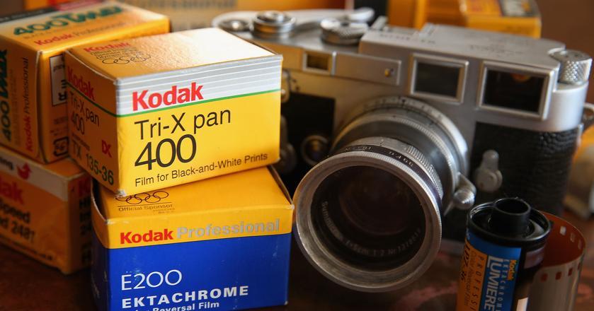 Eastman Kodak Company sprzedało dział negatywów i aparatów w 2013 roku