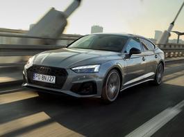 Audi A5 Sportback 40 TFSI - pozory, pozory...