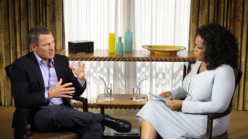 Lance Armstrong kłamał w wywiadzie dla Oprah Winfrey