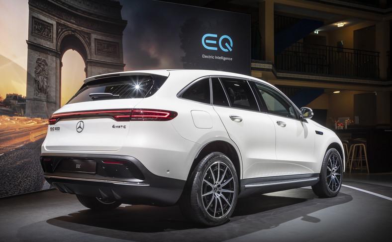Mercedes EQC - elektryczny SUV