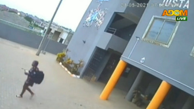 Police release CCTV footage of student journalist murdered in a hotel