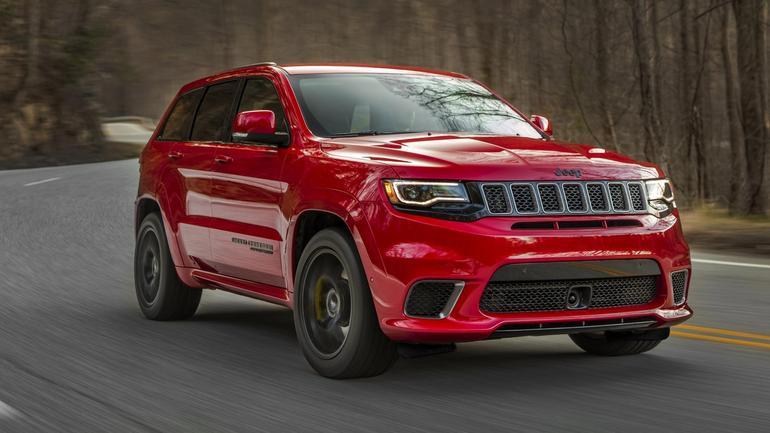 Jeep Grand Cherokee Trackhawk – 717 KM za rozsądną cenę