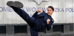 Oto aspirant Marta Mysur, tajna broń policji z Łodzi. Kopniakiem powali każdego zbira