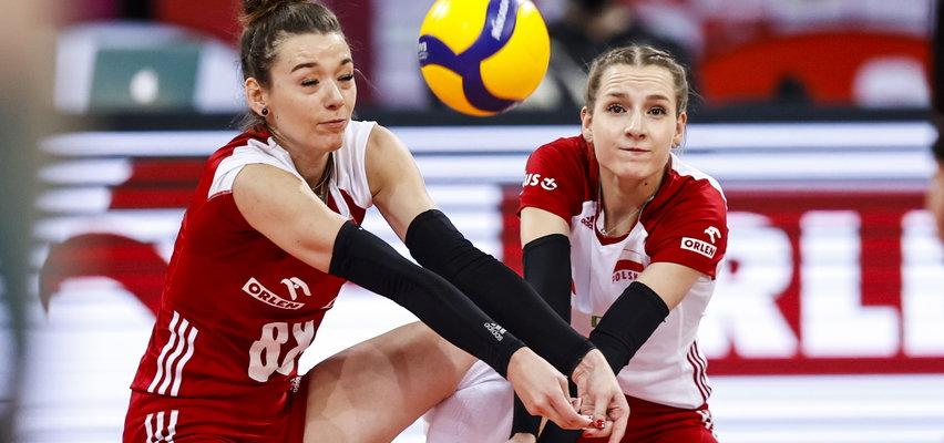Polskie siatkarki przegrały z Chinkami. Wyrównana walka w dwóch setach