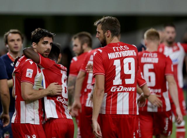 FK Tirana FK Crvena zvezda