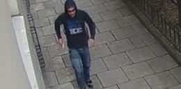 Zaatakował kierowcę nożem w centrum Krakowa. Poznajesz go?