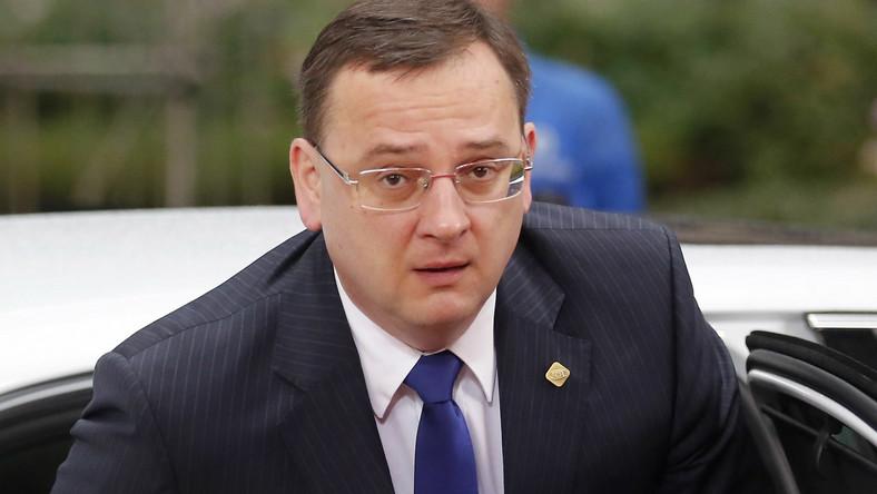 Premier Czech z dymisją u prezydenta