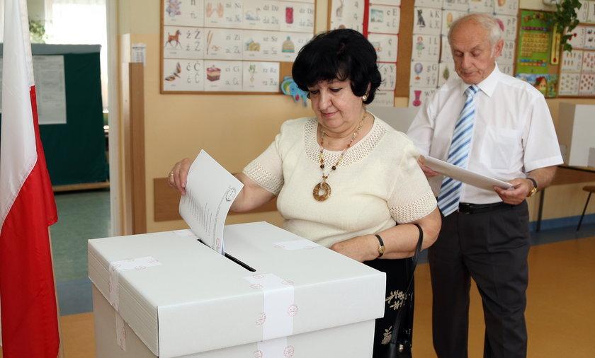 Głosowanie w wyborach do parlamentu europejskiego