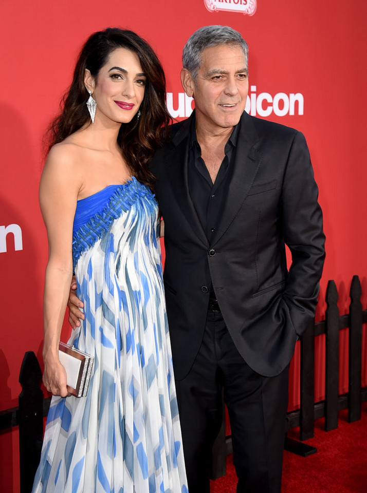 "George Clooney i Amal Clooney na premierze ""Suburbicon"""