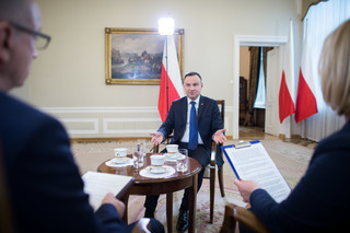Prezydent: Trump w Warszawie wygłasza wystąpienie nie tylko dla Polski, ale dla całego świata