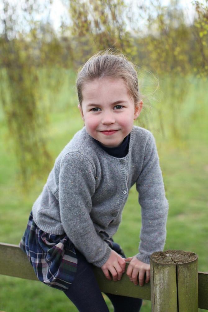 Slika na četvrti rođendan: mama Kejt je fotografisala Šarlot