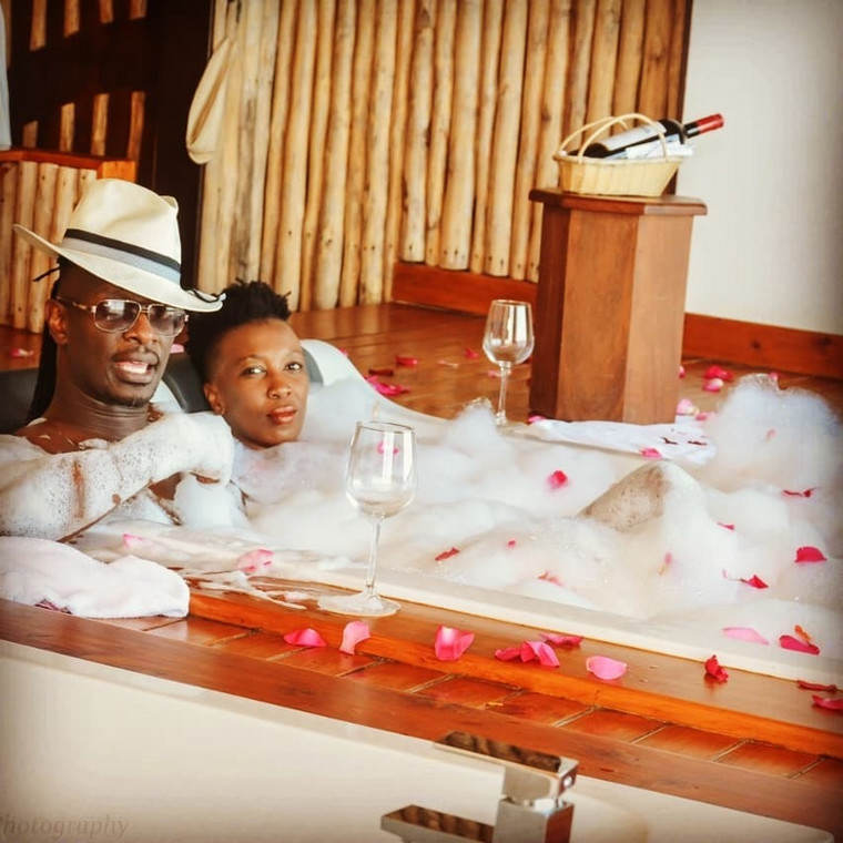 Nameless excites Kenyans as he reminisces his first date with Wahu