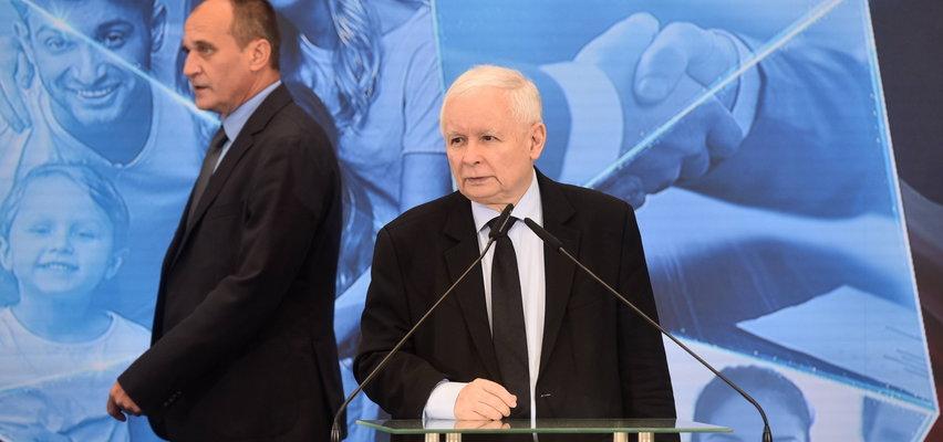 """Kaczyński przyznał, że """"zakolegował się z Kukizem"""". Ale stawia kropkę i woli nie wspominać więcej. Mówi o """"pewnym stanie"""""""