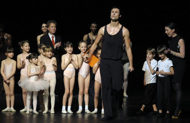 Leo Mujić na uručenju nagrade Beogradskog festivala igre
