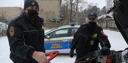 Nowa usługa strażników z podwarszawskich miejscowości. Pomogą odpalić auto