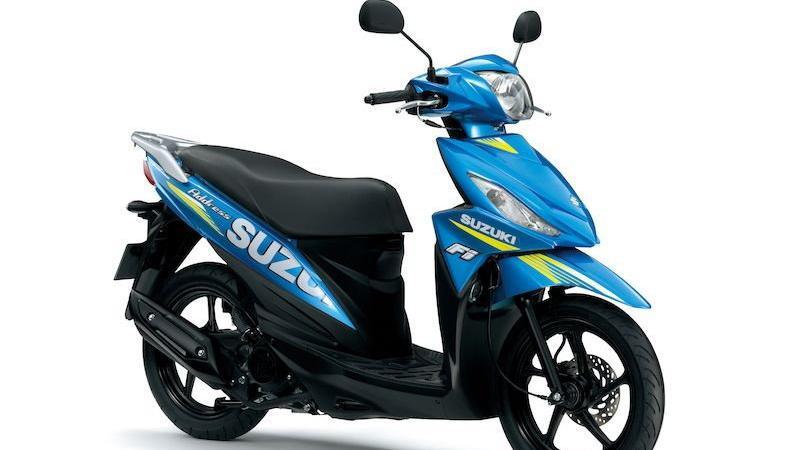 Suzuki Address 125 w malowaniu MotoGP