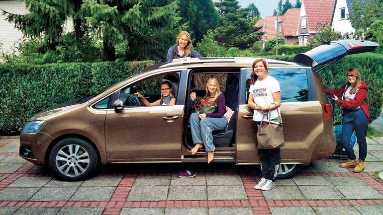 Seat Alhambra 2.0 TDI - Van na długie podróże