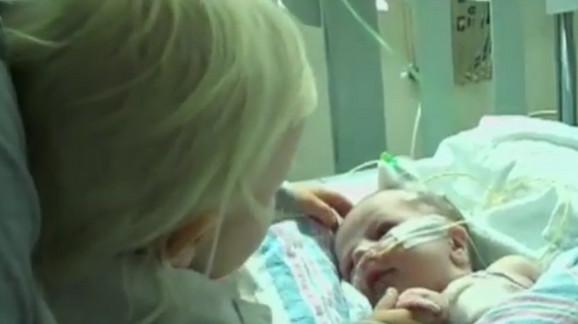 Beba je doživela srčani udar verovatno dok je bila u materici