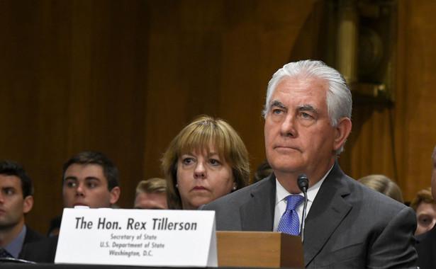 Tillerson zapewnił też, że nie prosił Libanu, by ten ustąpił w sporze z Izraelem w sprawie morskiej granicy
