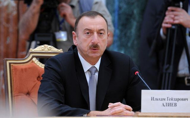 Ilham Alijev, predsednik Azerbejdžana