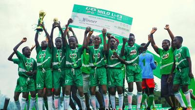 Amoawi Methodist are champions of 2019 Milo U-13 Champions League