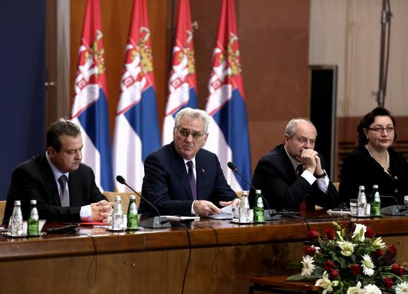 Tomislav Nikolić sa ambasadorima