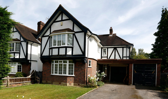 Kuća u Velikoj Britaniji u kojoj je porodica živela