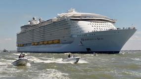 Największy statek pasażerski wyruszył w swój pierwszy rejs