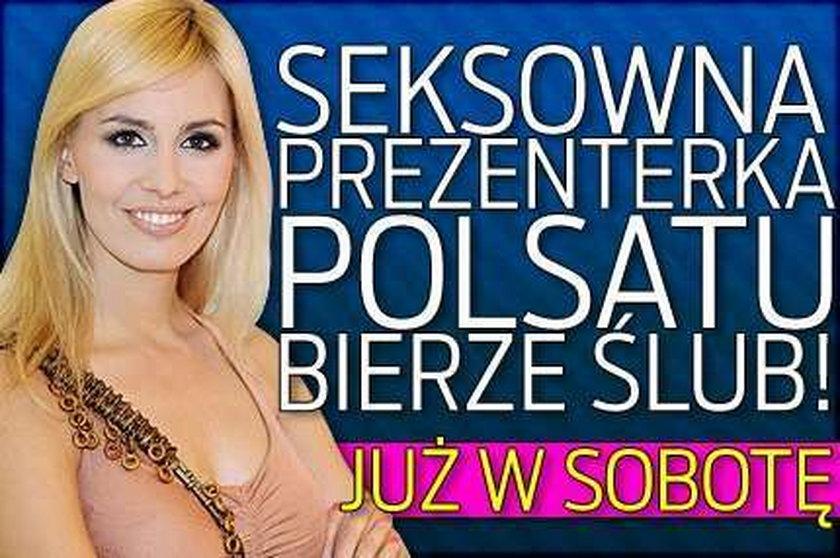 Seksowna prezenterka Polsatu bierze ślub! Już w sobotę