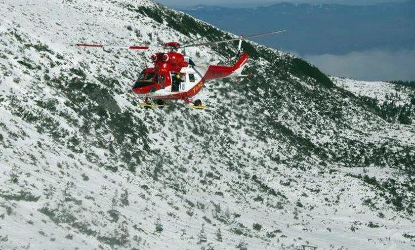 Tragiczny finał poszukiwań turysty w Tatrach