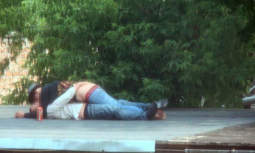 Miłość dopadła ich na rozgrzanym dachu!