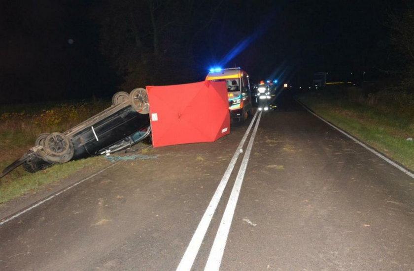 Wypadek w Makowisku