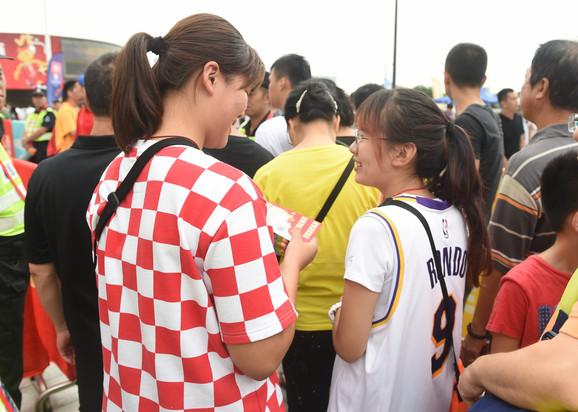 Košarkaška reprezentacija Srbije, Angole, Navijači