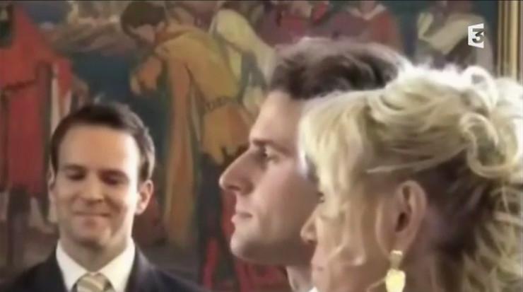 Emanuel Makron i Brižit Tronje na venčanju