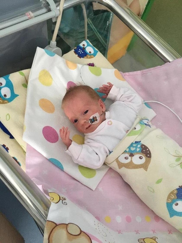 Lenka urodziła się jako wczesniak, ważyła 1300 g