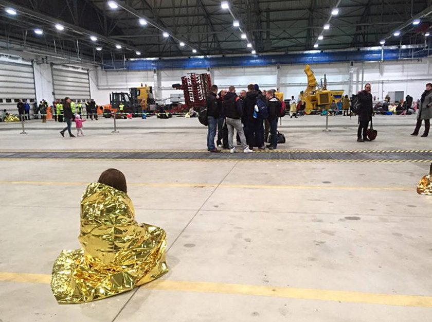 21 osób zatrzymanych po ewakuacji lotniska w Modlinie