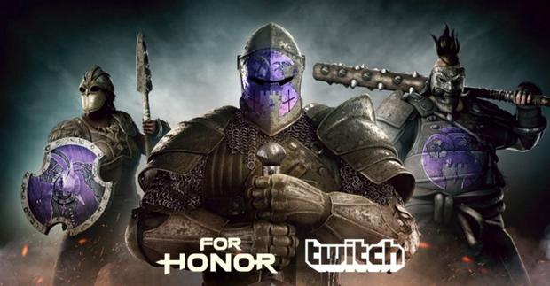 Twitch Prime - unikatowe emblematy do For Honor Ubisoftu
